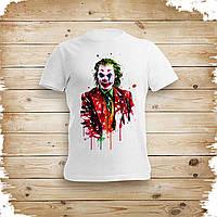 Футболка с печатью Joker