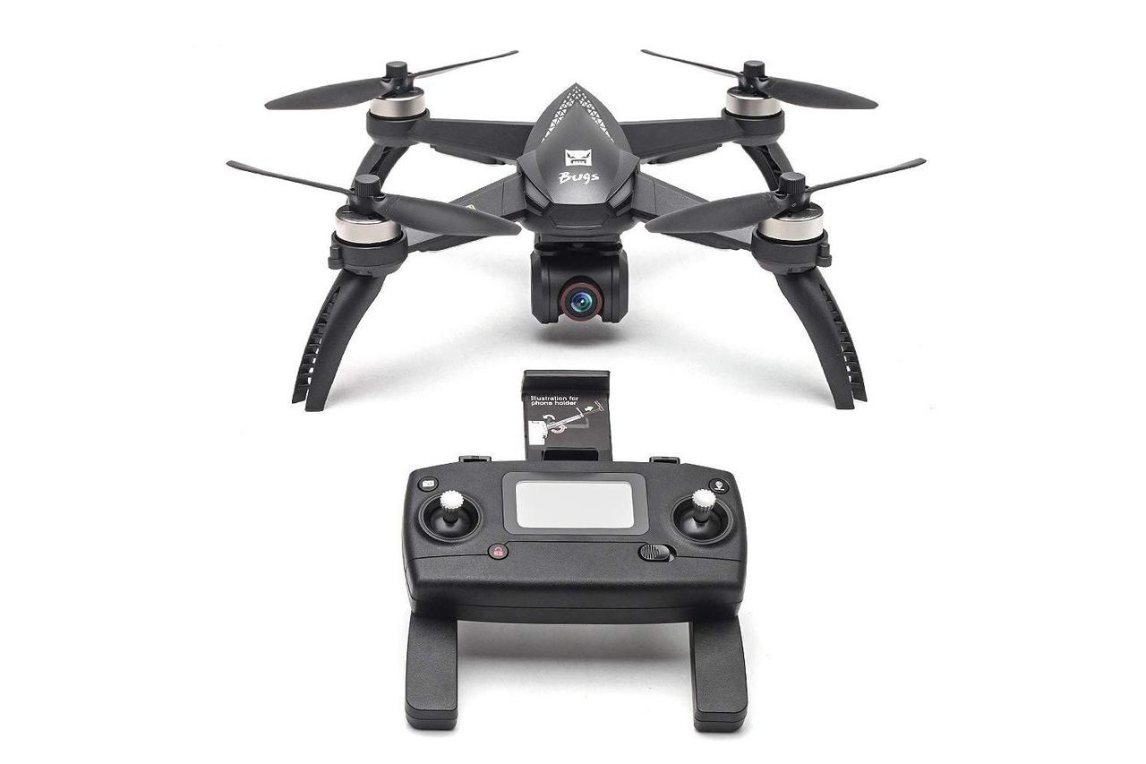 Квадрокоптер р/у MJX Bugs B5W 4K бесколлекторный с камерой Wi-Fi - Квадрокоптеры