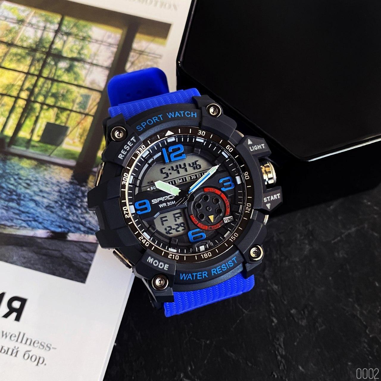 Часы наручные Sanda 759 Blue-Black