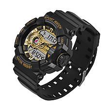 Часы Sanda 599 Black-Gold