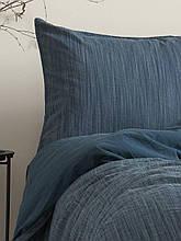 Комплект постельного белья из вареного хлопка размер 200*220 LIMASSO MOZAIK BLUE
