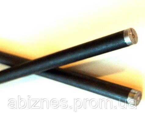 Электрод угольный (графитовый) с алюминиевым стержнем AL-80G