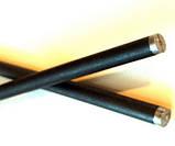 Электрод угольный (графитовый) с алюминиевым стержнем AL-95G, фото 2