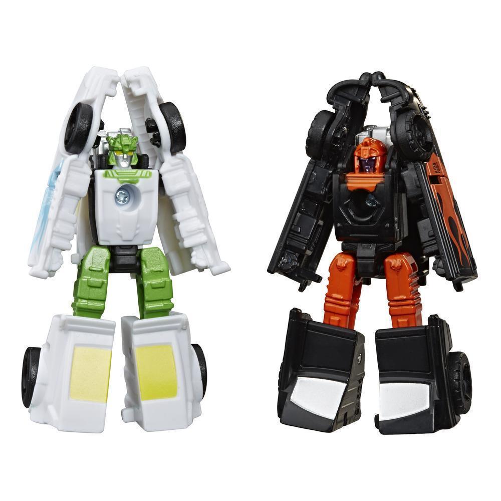 Hasbro игровой набор  Трансформеры Война за Кибертрон Микромастер, (E7149 HOT ROD PATROL)