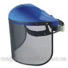 Щиток защитный газонокосильщика,маска-сетка защитная для триммера