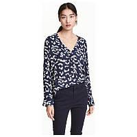 Блуза женская с принтомH&M, фото 1