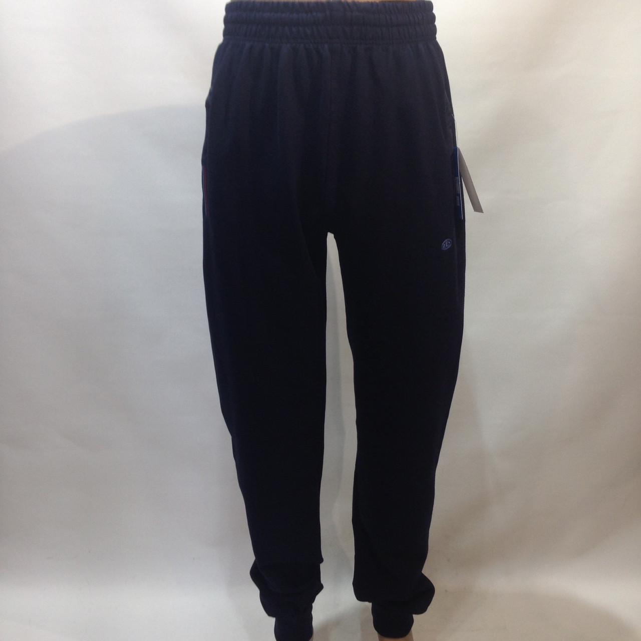 Спортивные штаны (больших размеров) под манжет Billcee xl, 2xl, 3xl, 4xl темно-синие