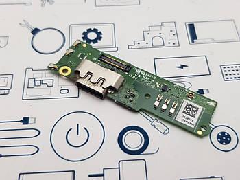 Плата нижняя Sony Xperia XA1 Plus G3412 Сервисный оригинал с разборки