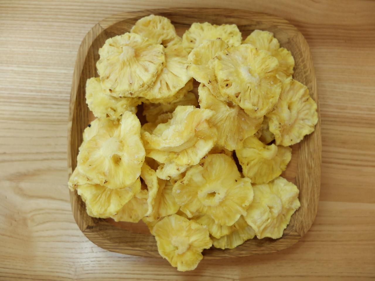 Ананас сушеный без сахара (100 грамм)