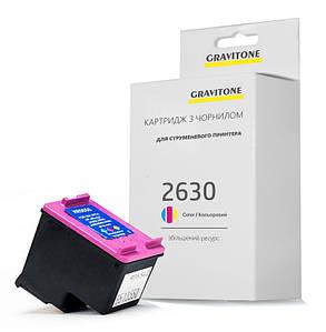 Картридж совместимый HP DeskJet 2630 (цветной), повышенный ресурс, 330 копий, аналог от Gravitone