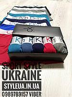 Трусы мужские Calvin Klein комплект в фирменой коробке/ Набор трусов в подарочной коробке