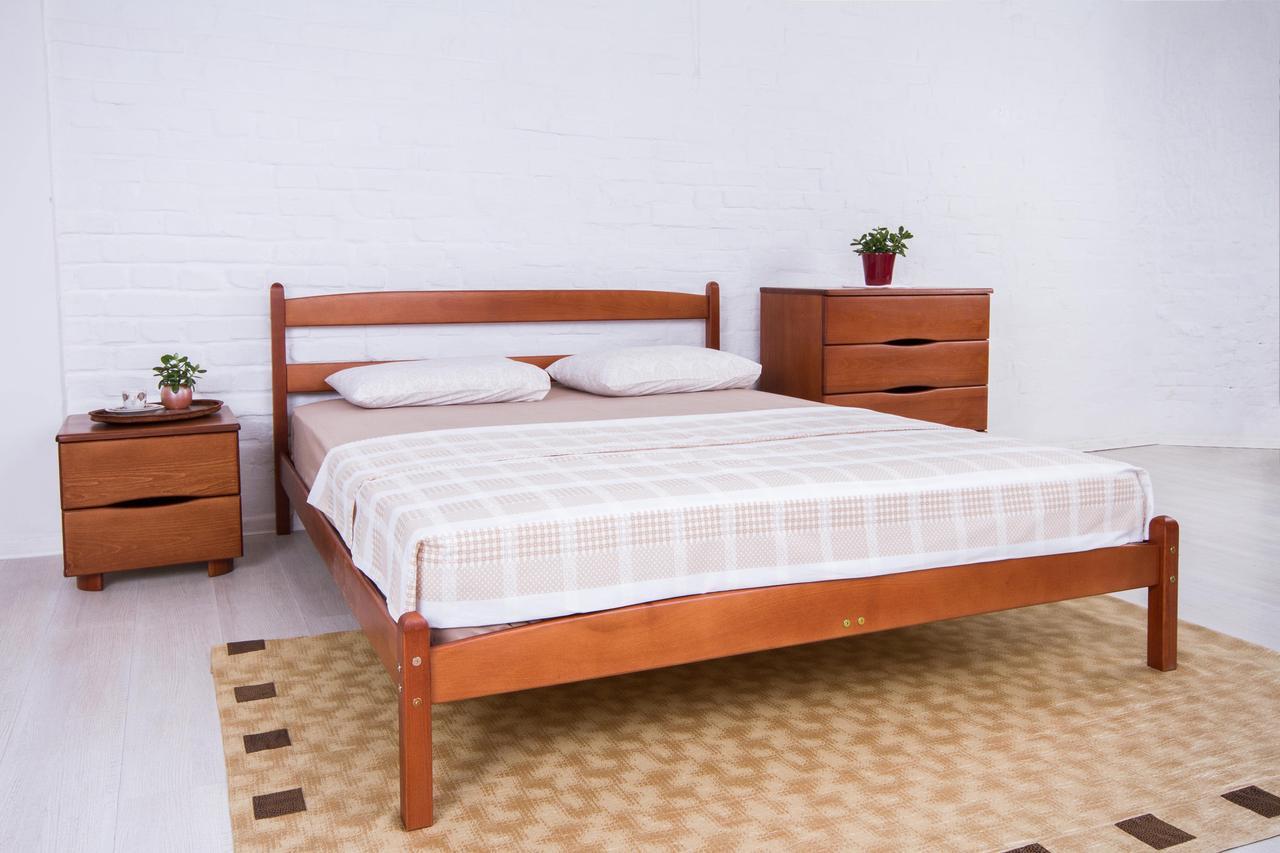 Кровать Ликерия без изножья 120 х 200 см (орех светлый)