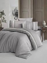 Комплект постельного белья сатин Moonlight First choice евро размер Vitaly bej
