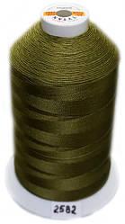 Нить Титан №20 2000 м. Польша цвет (2582) хаки.