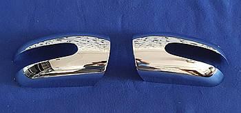 Хромированные накладки на зеркала Mercedes W203