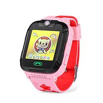 Детские умные GPS-часы Wonlex Smart Baby Watch GW2000 розовые