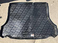 Коврик багажника (корыто)-полиуретановый, черный Daewoo lanos (дэу/деу/део ланос) (седан, хетчбек) 1997г+