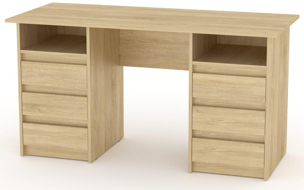 Стол письменный Декан-3 белый КОМПАНИТ (140х60х73.6 см), фото 3