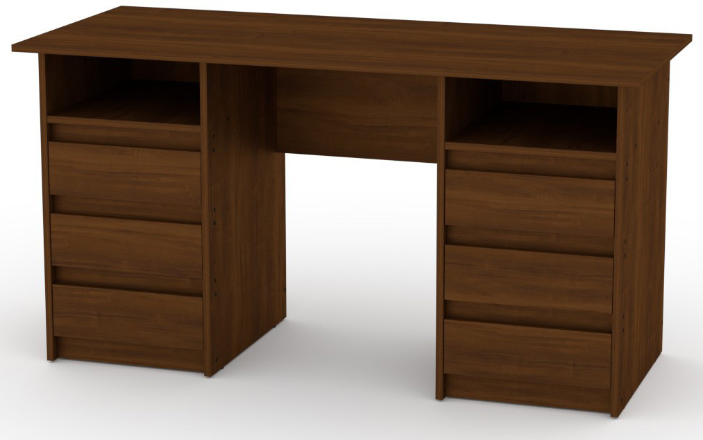 Стол письменный Декан-3 белый КОМПАНИТ (140х60х73.6 см), фото 5