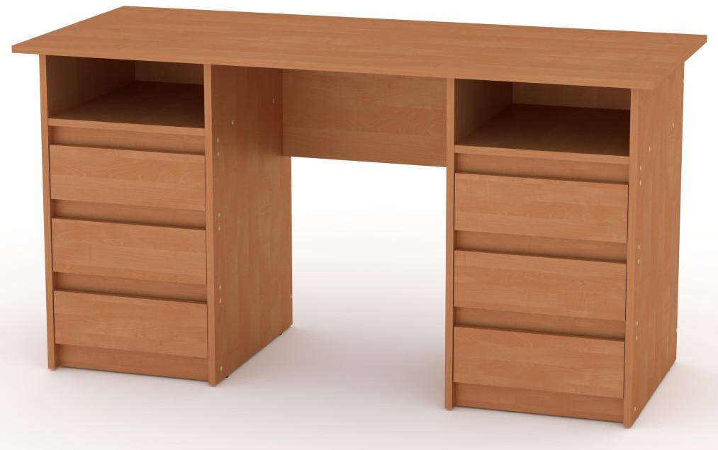 Стол письменный Декан-3 белый КОМПАНИТ (140х60х73.6 см), фото 7