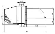 Пеллетная горелка Bioprom AIR Pellet 36 кВт, фото 3