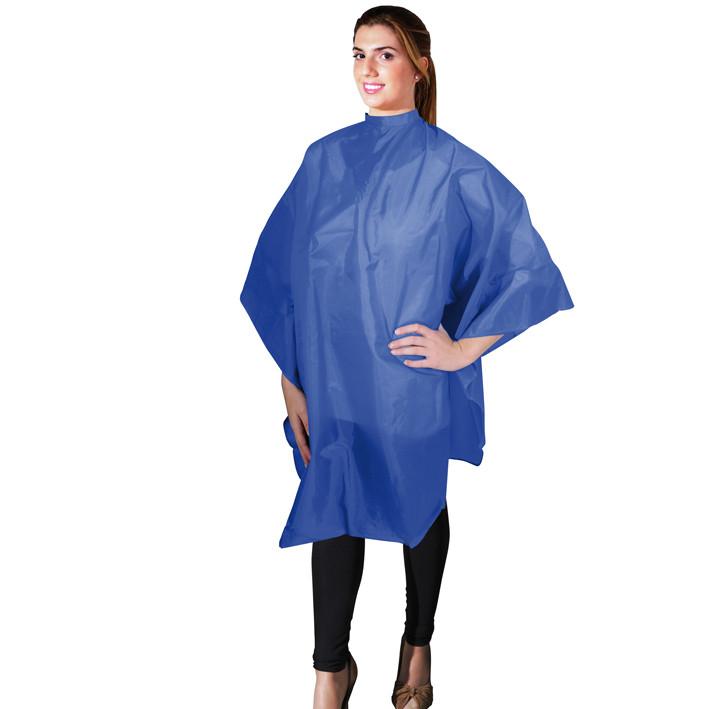 Накидка для стрижки синяя Eurostil 01175/59 размер 136х124см