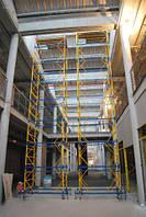 Передвижная строительная вышка-тура 2,0х2,0 м высота 7,5 м