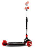 Трехколесный детский самокат Caretero Carbon Toyz (Red)
