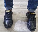 Чоловічі кросівки Inshoes чорні, фото 2