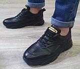 Чоловічі кросівки Inshoes чорні, фото 3