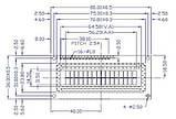 Индикатор ЖКИ  I2C 1602A-B с подсветкой LCD 1602, фото 2