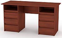 Стол письменный Декан-3 Яблоня КОМПАНИТ (140х60х73.6 см), фото 1