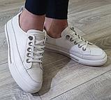 Жіночі кеди Inshoes білі, фото 3