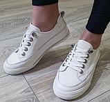 Жіночі кеди Inshoes білі, фото 4