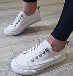 Жіночі кеди Inshoes білі, фото 5