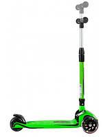 Трехколесный детский самокат Caretero Carbon Toyz (Green)
