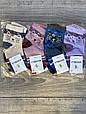 Шкарпетки бамбук дитячі Montebello для дівчаток і хлопчиків 1,3,5,7,9,11 років 12 шт в уп мікс 4х кольорів, фото 2