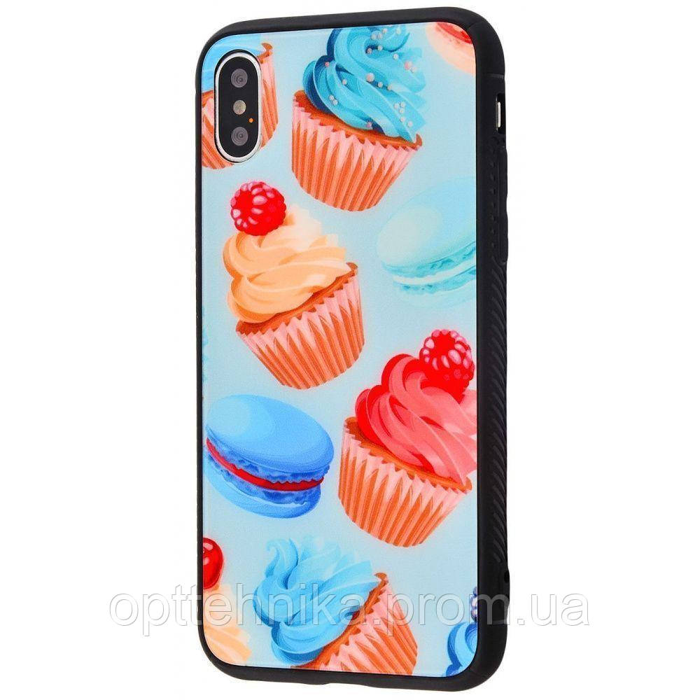 Glass case My Style New iPhone Xs Max cakes_and_macarons
