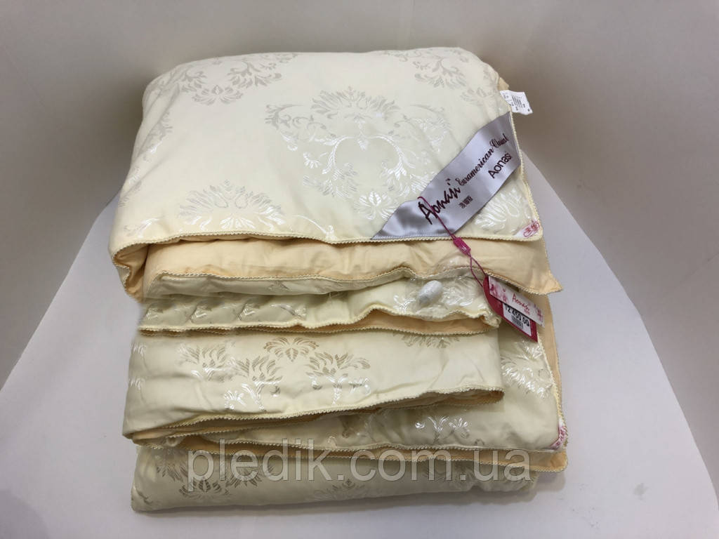 Шелковое одеяло 200х230 шелк-сатин 2,0 кг