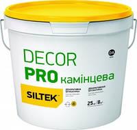 "Декоративна штукатурка структурна Siltek Decor pro  ""КАМІНЦЕВА"", 25 кг"