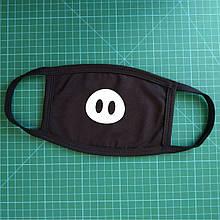 Тканевая сувенирная маска для лица. Пятачек