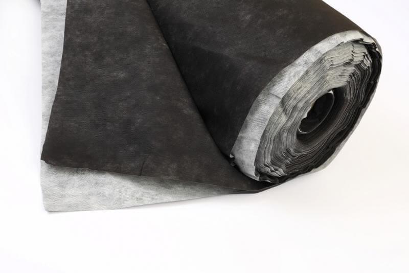Спанбонд для масок черно-белый в рулонах 50 г/м2