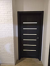 Двери Папа Карло, Полотно+коробка+1 к-кт наличника, Millenium, модель ML-14, фото 3
