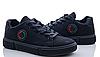 Кросівки підліткові чорні. Унісекс.