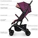 Коляска детская прогулочная SELECT ME 1070 Plum розовый, фото 3