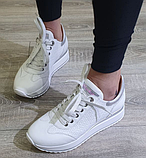 Кеди на платформі Inshoes білі, фото 3