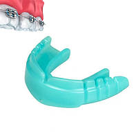 Капа OPRO Snap-Fit FOR BRACES Mint Green Flavoured+Strap (art.002318002), фото 1