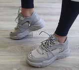 Жіночі кросівки Inshoes сірі, фото 2
