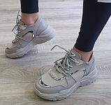 Жіночі кросівки Inshoes сірі, фото 4