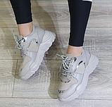 Жіночі кросівки Inshoes сірі, фото 5
